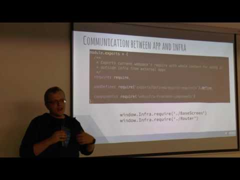 React Israel Meetup #12 - 2nd Talk: Micro Apps Over Three Continents
