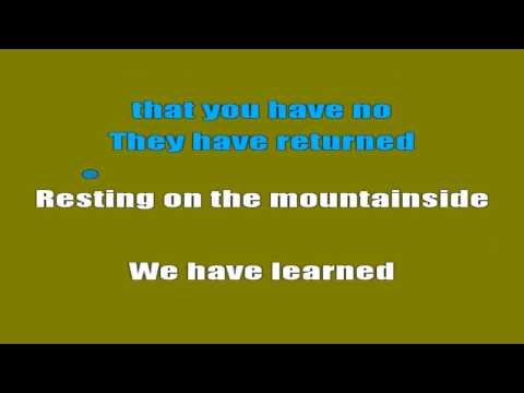 System of a Down - Holy Mountains (Karaokê Lyrics)