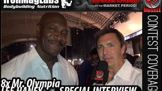 John Hansen Interviews 8 Time Mr. Olympia Lee Haney At The 2014 NPC Southern States!