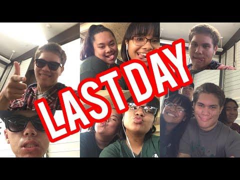 Kapaa High School: LAST DAY of JUNIOR YEAR VLOG
