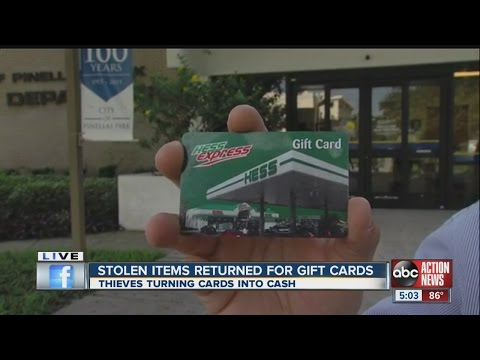Gift card black market a growing trend