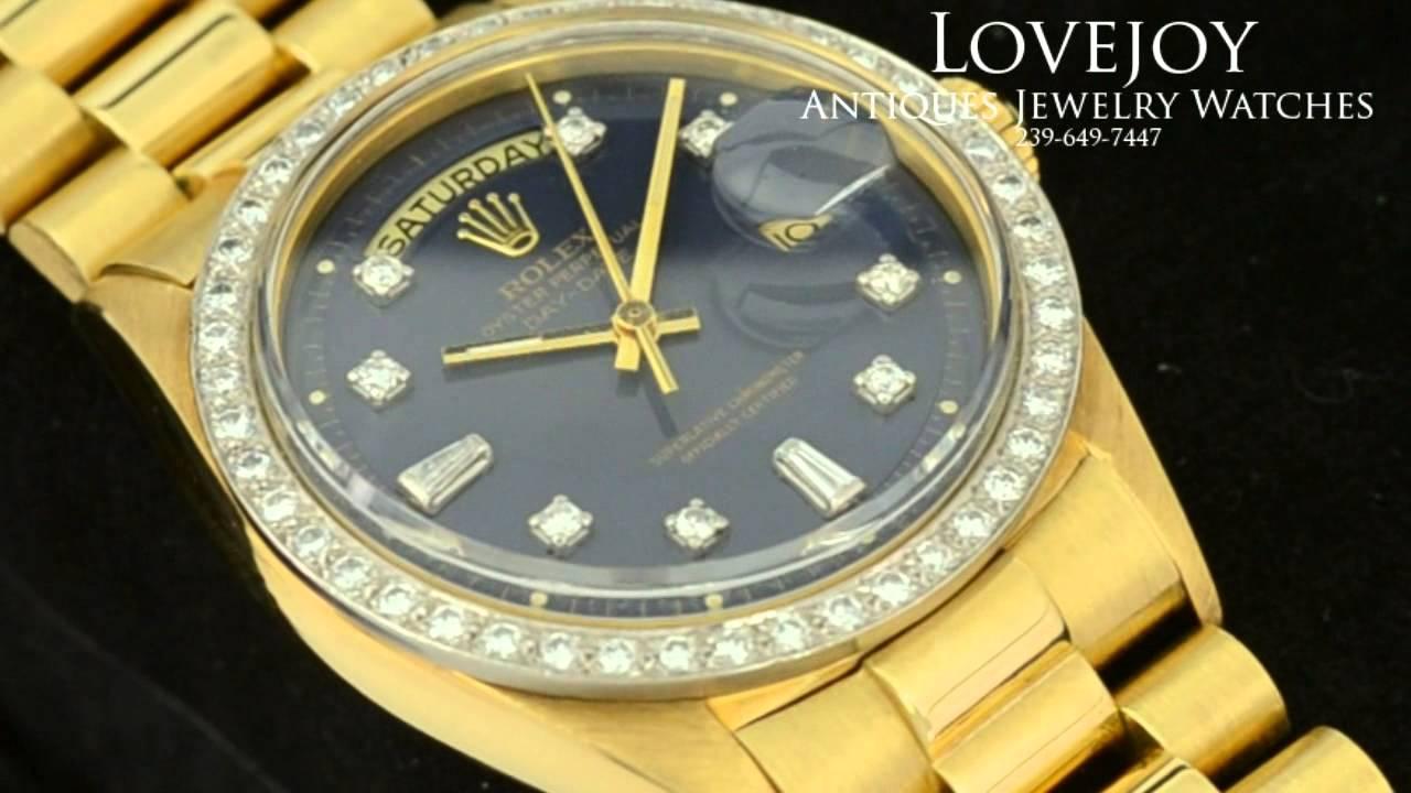 Fake Gold Rolex Presidential