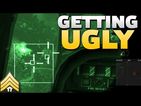 Getting Ugly - Arma 3 Apache CAS
