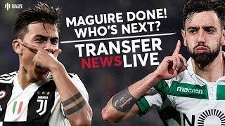 Dybala, Mandzukic & Bruno Fernandes Next? | Man Utd Transfer News