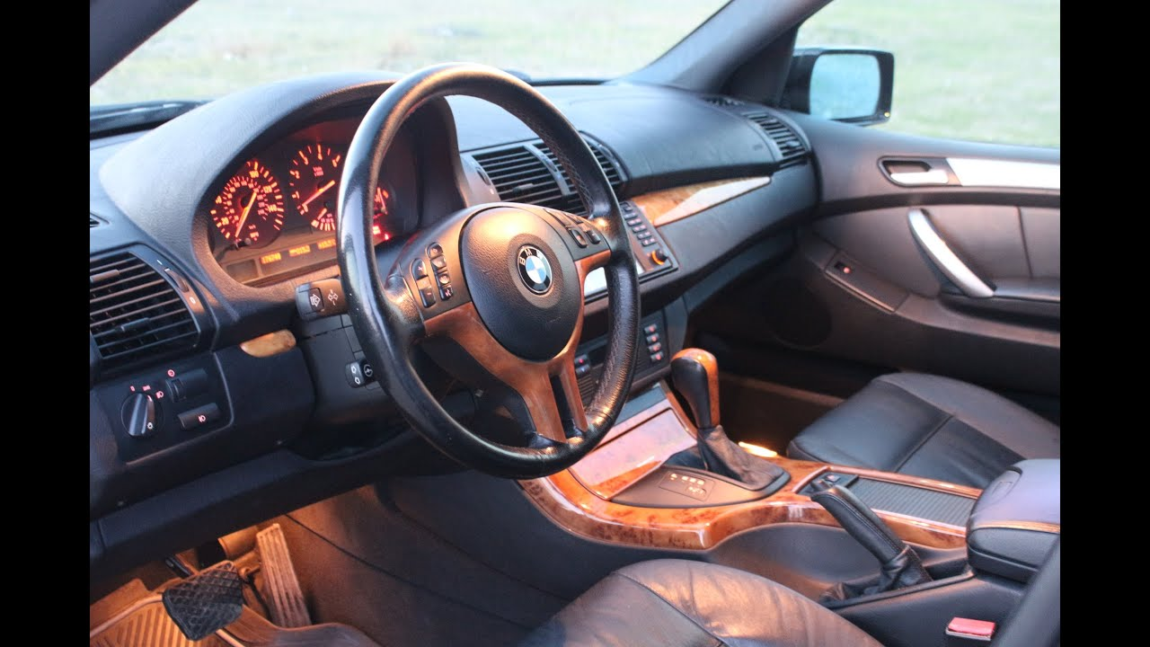 Bmw X5 E53 Interior Youtube