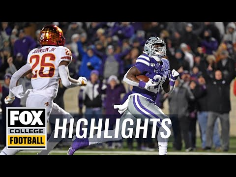 Kansas State Holds Off No. 23 Iowa State 27-17 | HIGHLIGHTS | CFB ON FOX