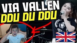 *REACTION* Via Vallen - Ddu Du Ddu Du ( Black Pink Koplo Version) - English Reaction