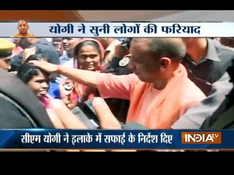 UP CM Yogi Adityanath on a two-day tour of Allahabad