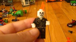 How to make lego ghost rider and dr. strange