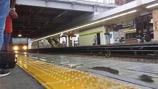 秋田駅 485系発車