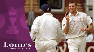 Glenn McGrath's 5-wicket haul - 2001 Ashes Rewind