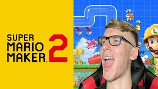 HOW MUCH CAN I RAGE?? SUPER MARIO MAKER 2 (LET ME PLAY YOUR MAPS!!) NEW NINTENDO STORE IN TOKYO!!