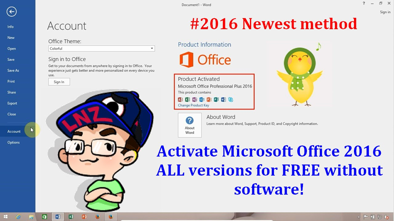 activador office 2016 mega windows 7