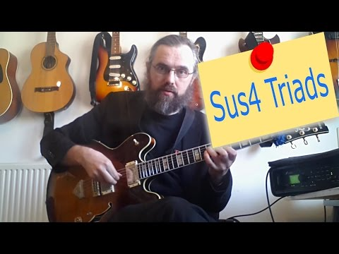 Sus4 Triads as Upper Structures