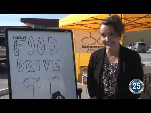 04-23-2021 Great Basin College Hosts Food Drive