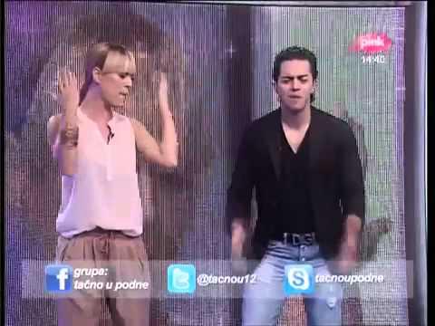 Adil Feat Allegro Band - Zivot Bez Tebe Ne Zivim - Tacno U Podne - (TV Pink 2012)