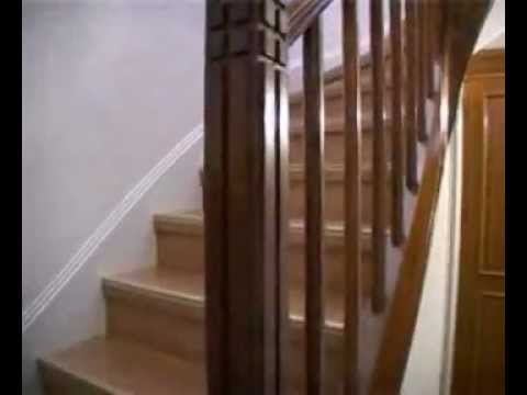 renovation tout escalier youtube. Black Bedroom Furniture Sets. Home Design Ideas