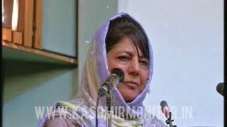 Chief Minister, Mehbooba Mufti, Monday said that some vested intere...