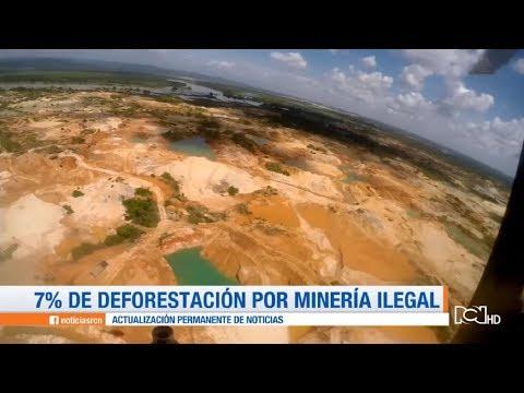 Los devastadores efectos de la minería ilegal en el país