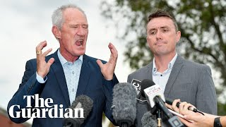 'We were on the sauce,' James Ashby says of One Nation's gun lobby tape