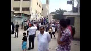 مظاهرات الاخوان بادكو ضد السيسى