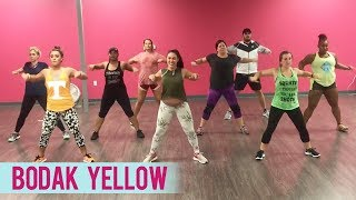 cardi b bodak yellow dance fitness with jessica