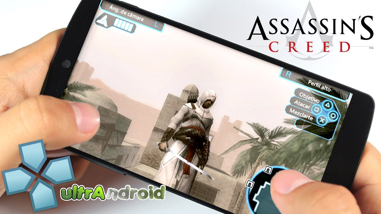 Assassins creed bloodlines ppsspp 0. 9. 9. 1 android +.