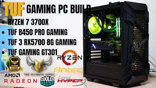 Tuf Build | Ryzen 7 3700x + Tuf Rx5700 8g + Tuf Gt301