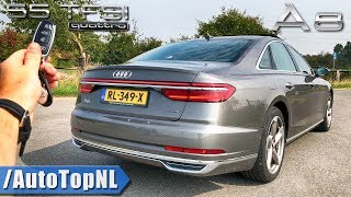 AUDI A8 2019 REVIEW POV Test Drive on AUTOBAHN & ROAD by AutoTopNL