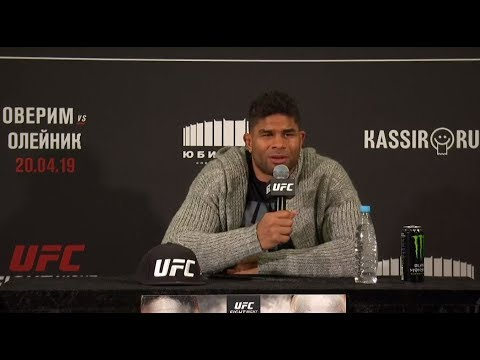 UFC St. Petersburg: Post-fight Press Conference