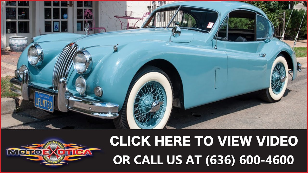 1957 jaguar xk140 fixed head coupe sold youtube