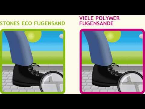 Häufig Vergleich STONES ECO FUGENSAND / Viele Polymer Fugensande - YouTube UQ05