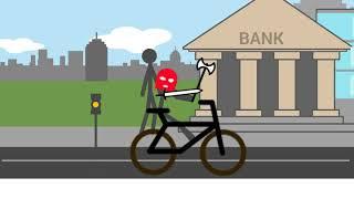 (Рисуем Мультфильмы 2)фильм про бандитов ограбление банка #2
