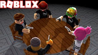 WHO IS THE SECRET MURDERER AT THIS TABLE?! ROBLOX BREAKING POINT