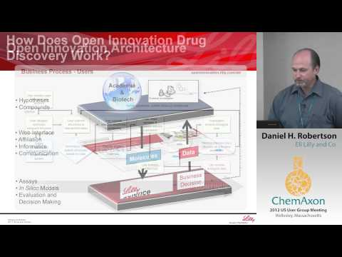 Daniel Robertson (Eli Lilly): The Lilly Open Innovation Drug Discovery Program