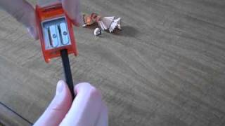 how to use the palomino kum long point sharpener