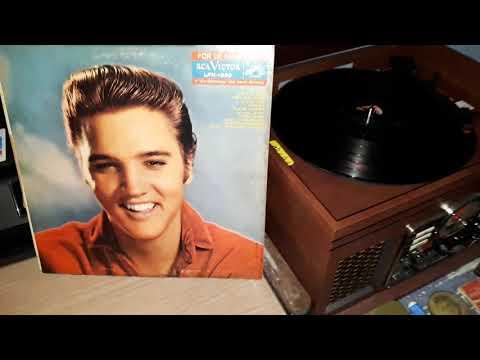 Elvis For LP Fans Only Original Album Mono - Jean-Paul Adams Jr