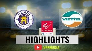Viettel hạ gục Hà Nội B trong ngày đăng quang | VPF Media