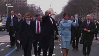 Трамп на чолі інавгураційного параду у Вашингтоні (відео)