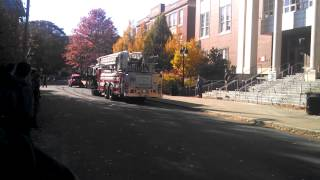 brookline fire department response