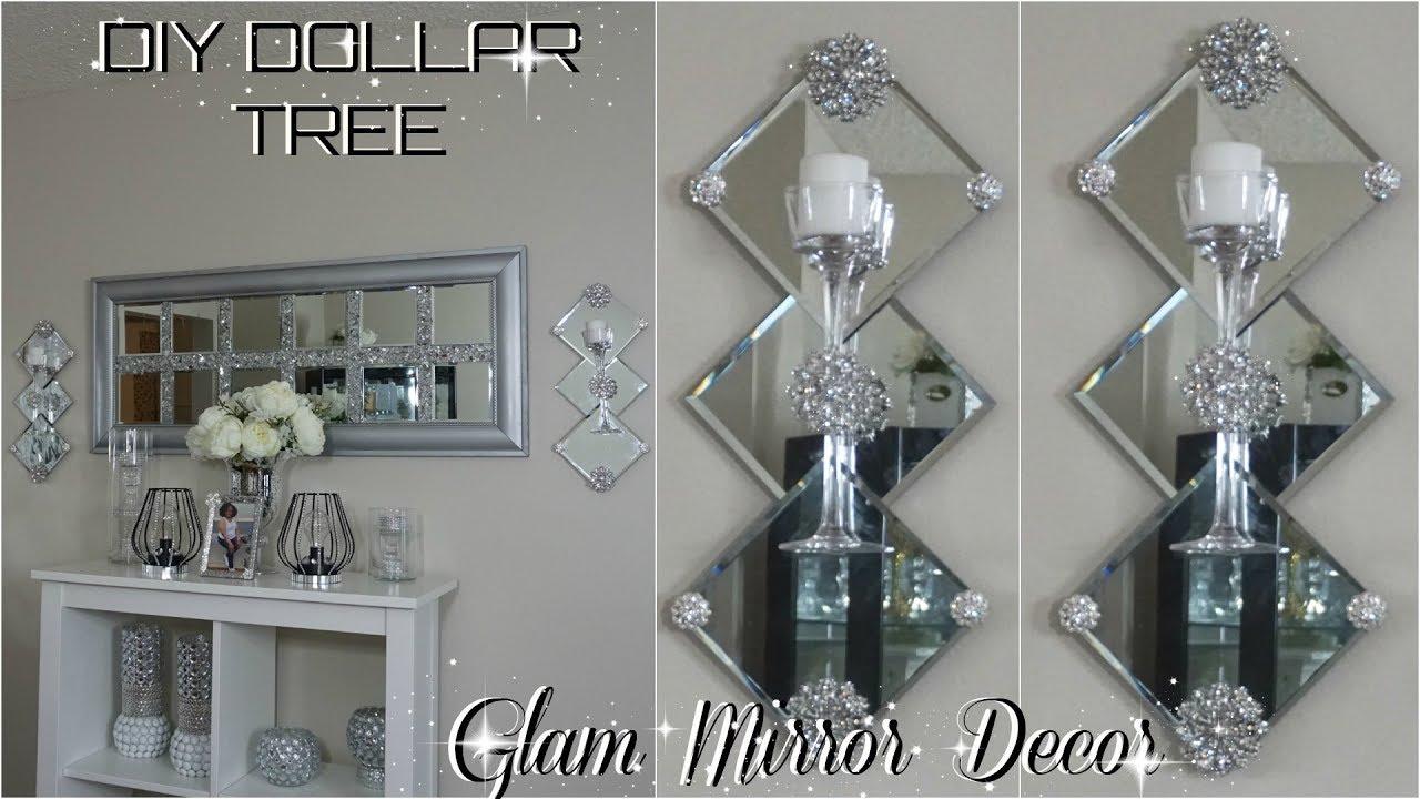 Dollar Tree Diy Mirror Decor Diy Easy Inexpensive