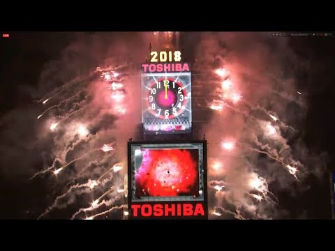New York New Years Eve 2018 - Countdown to 2018