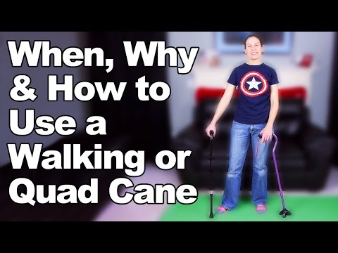 When, Why How to Use a Walking Cane or Quad Cane - Ask Doctor Jo from YouTube · Duration:  6 minutes 40 seconds