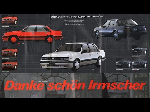 1986いすゞISUZUアスカASKAイルムシャーirmscherカタログ(いすず・イスズ)初代JJ110/120/510
