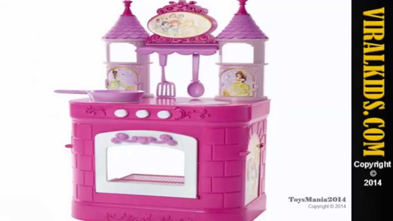 Disney Princess Kitchen Play Set Toys Review