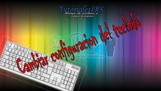 Como configurar el teclado en windows 8 (cambiar idioma) - windows 8