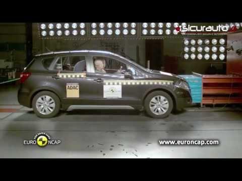 Suzuki SX-4 S-Cross - Crash test Euro NCAP