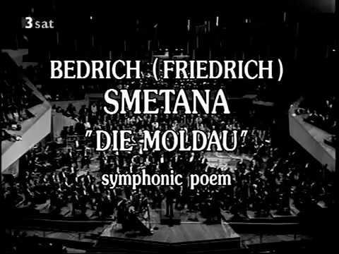 """Die Moldau"" Bedrich Smetana|Berliner Philharmoniker| Herbert Von Karajan"