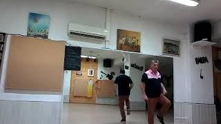 Danse en ligne Cumbia sans musique