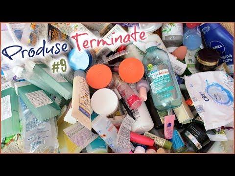ROM: Produse Terminate - Yves Rocher,Cien,Garnier,Listerine,7th Heaven,Dove   Empties #9
